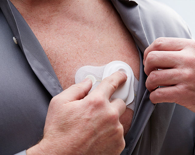 Welch Allyn TAGecg Wearable Sensor