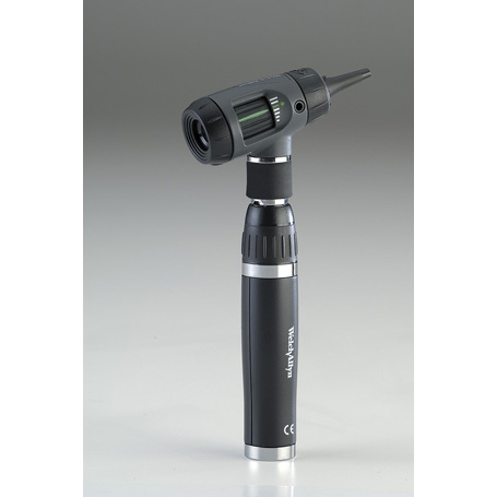 23820: MacroView Otoscope with Throat Illuminator show with 3.5 V Lithium Ion Handle