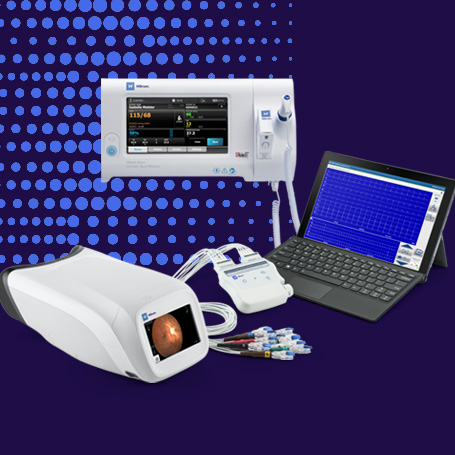 Tiered Promotion with RetinaVue 700, Diagnostic Cardiology Suite ECG, and Connex Spot Monitor